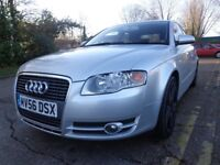 AUDI A4 2.0 SE CVT 4dr. SILVER, LOW MILEAGE,GOOD CONDITION, CLEAN CAR MOB: 07496128937