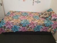 Free single bed and mattress and mattress rarely used