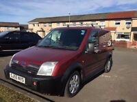 Ford transit connect SEXY WEE VAN 1 YRS MOT