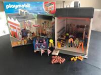 Playmobil roadworks Gaurage