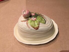 Clarice Cliff 1930's butter / cheese dish