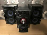 Sony Midl Hifi System with CD player and Bluetooth