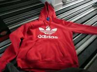 Mens Adidas Hooded Sweater