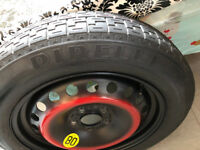 MONDEO SPARE WHEEL T125/85R16 2002 PIRELLI Spacesaver Tyre