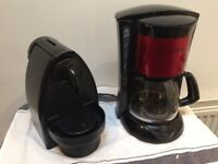 2 Coffee Machines (nespresso capules, and filter)