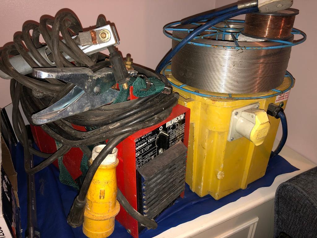 Murex Tradesarc Welder Welding Transformer 110v In Morley West On Gun Or Cables And Welders