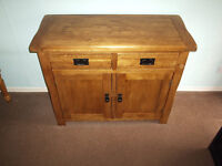 Solid Oak Cupboard (brand New unwanted gift. Less than half price for quick sale)