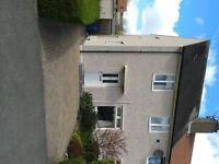 2 Bedroom semi-detached property for rent unfurnished in Glenrothes