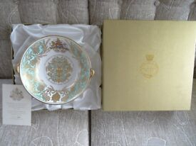 Limited Edition Golden Jubilee Lionhead Bowl 1952 - 2002