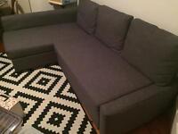 Friheten Grey corner Sofa bed. Great condition