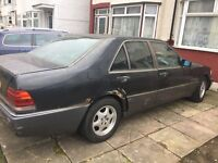 Mercedes-Benz S Class S300 4dr Auto Left Hand Drive, START DRIVE WELL (spare or repairs)
