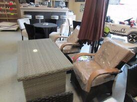 complete rattan set