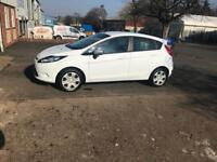 Ford Fiesta 1.25 white genuine low mileage 47000