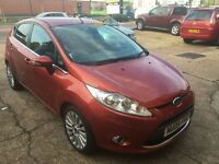 2009 FORD FIESTA 1.6 TDCI TITANIUM 5 DOOR 110 000 MILES VERY CLEAN