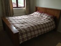 King size bed ex striling furniture store