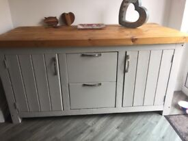 Custom made Kitchen Island and Stool Chairs - bespoke
