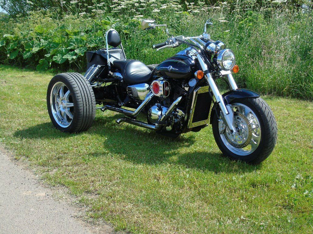 kawasaki vn 1500 mean streak trike 2003 new close up video added in hartlepool county. Black Bedroom Furniture Sets. Home Design Ideas