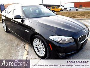 2013 BMW 5 Series 535i xDrive CERT E-TEST ACCIDENT FREE $28,999