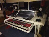 Control 24 and White studio desk