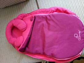 Footmuff quinny very good condition