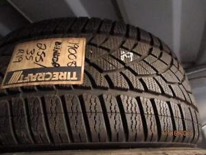 255/35R19 2 ONLY USED DUNLOP SNOW TIRES
