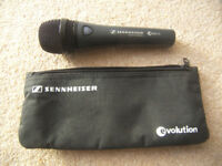 Sennheiser E 835 FX Microphone with Mic Control for TC-Helicon VoiceLive / Voice Live.