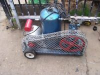 old air compressor needs attention