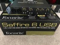 Focusrite Safire 6 USB audio interface