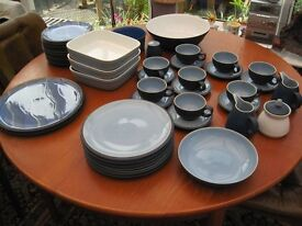 NEW 2017 PRICE = Denby Blue Jetty from £4 to SET £240 ono