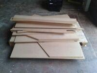 Free Scrap Sheet Material, Wood