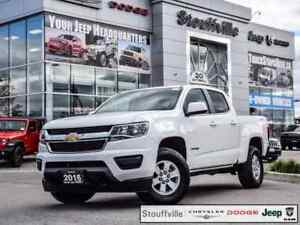 2016 Chevrolet Colorado WT, 4X4, Camera, Only 33,500 KMS
