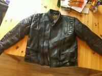 Mens motorcycle jacket size EUR 60