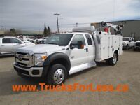 2015 Ford F-550 XLT 4X4, NEW RIG UP!!! -