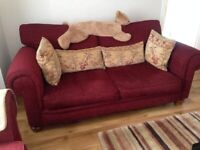 Sofa, Chairs and Rug