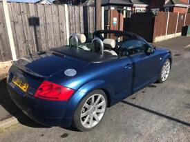 Beautiful Audi TT convertible CRUISE CONTROL, HEATED SEATS, LOW MILAGE, BOSE, ROOF COVER, LEATHER