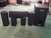 Samsung speakers 5+1 in good working order. Speakers only - no amplifier, no leads