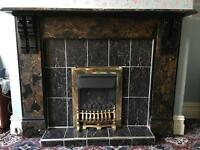 Victorian Fireplace Surround for sale