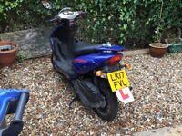 125cc moped 17 plate direct bike