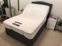"BRAND NEW Adjustable Orthopaedic 4"" Double Bed Frame"