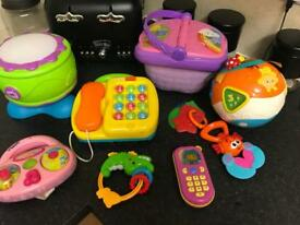 Bundle of musical learning toys