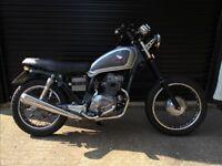 Honda CM 125 motorcycle