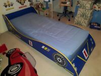 Kid's Racing Car Bed