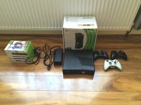 Xbox 360 250GB Console, 3 Controllers and 11 Games