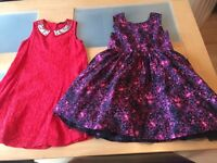 Girls party dresses 7-8
