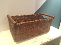 IKEA Big woven wicker basket RRP £60-SELLING HALF PRICE