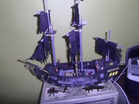 Mega Bloks Pirates of the Caribbean Black Pearl Ship