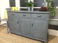 VINTAGE SIDEBOARD FREE DELIVERY LDN 🇬🇧Grey chest