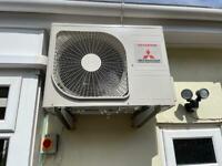 Mitsubishi Air conditioning.
