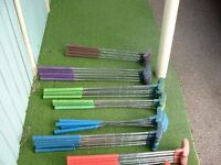 Crazy Golf Rubber Safety Putters x 58