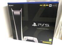 Sony PlayStation 5 Digital version 825GB / Brand New